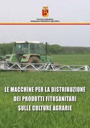 Macchine irroratrici 3318 k - Provincia di Bergamo