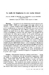 Lo studio del fitoplancton in aree marine balneari - Istituto Superiore ...