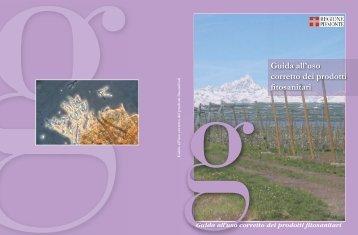 Guida all'uso corretto dei prodotti fitosanitari - Regione Piemonte