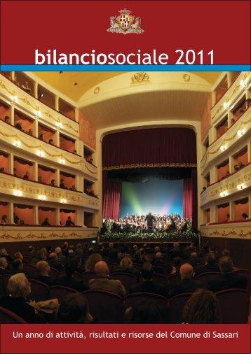 bilanciosociale 2011 - Comune di Sassari