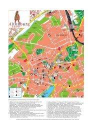 Innenstadtplan - Altenburg Tourismus