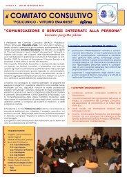 Bollettino n.3 del 30 settembre 2011 - Azienda Ospedaliero ...