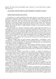 analisi_testo_filmico_come _esperienza.pdf - Scienze della ...