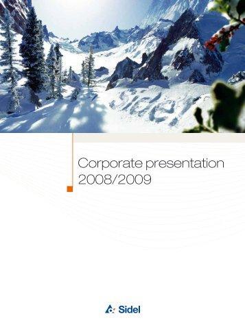 Corporate presentation 2008/2009 - Tetra Laval