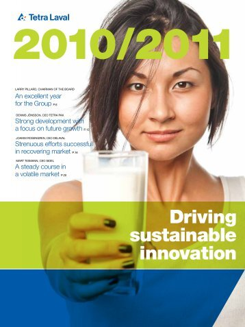 Tetra Laval Annual Report 2010/2011 - Sidel