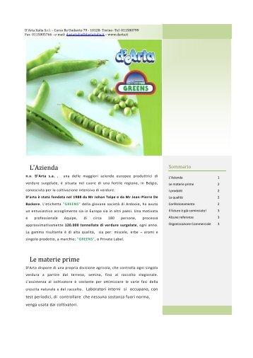 Scarica la brochure - Darta.it