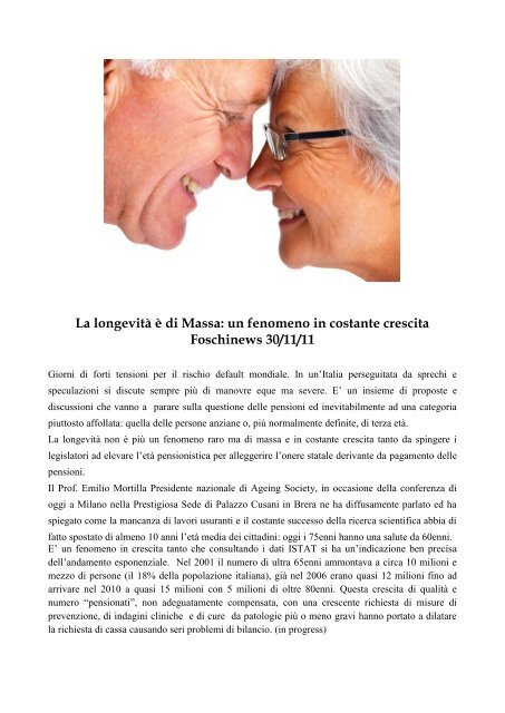 Articoli Su Salute E Benessere 2 Maurizio Foschi