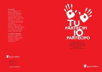 Tu partecipi, Io partecipo - Save the Children Italia Onlus