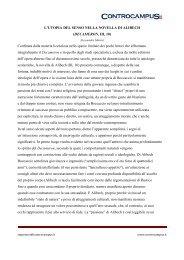 La novella di Alibech - Appunti - Controcampus