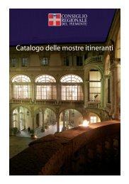Catalogo delle mostre itineranti - Consiglio regionale del Piemonte