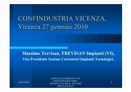 Presentazione Trevisan - 27.01.10.pdf - Confindustria Vicenza