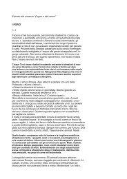 """Estratto dal romanzo """"Cogne e altri amori"""" I PORCI ... - Tito Giliberto"""