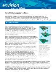 Soft-Pcbs mit Leben erfüllen - Altium