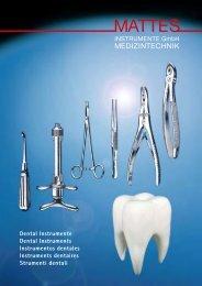 Dental Instrumente Dental Instruments Instrumentos ... - Visiomed