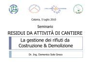 La gestione dei rifiuti speciali e pericolosi - Aiat Sicilia