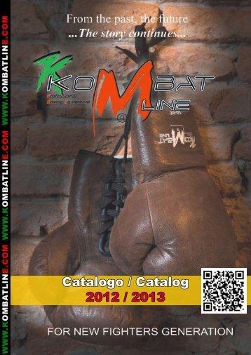 Catalogo / Catalog 2012 / 2013 - KombatLine.com