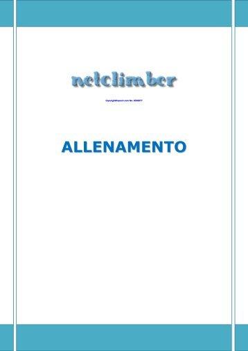 ALLENAMENTO - Netclimber