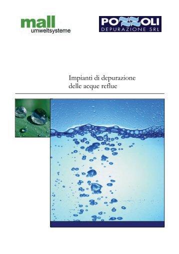 Schemi tipologie impianti addolcitori acqua depurazione for Schema scarico acque reflue domestiche