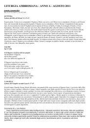 Commenti Rito Ambrosiano - 08 Agosto 2011.pdf - Padre Lino Pedron