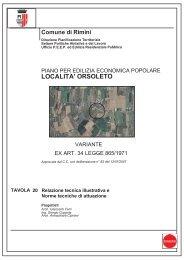 relazione tecnica illustrtiva e norme tecniche di attuazione