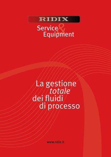 La gestione totale dei fluidi di processo - Ridix