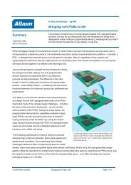 Bringing soft Pcbs to life Summary - Altium