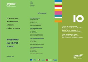 Informazioni - Ass.ne CNOS-FAP Regione Piemonte Fossano ...