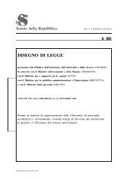 Decreto Gelmini 2009 - CorriereUniv.it
