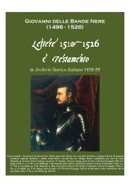 Giovanni delle Bande Nere.pdf - Libreria Militare Ares