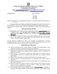 Convocazioni, adempimenti e criteri scrutini intermedi - Delfo