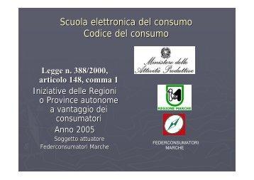 2.codice del consumo - Home Page YesProject