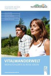 VITALWANDERWELT - Teutoburger Wald