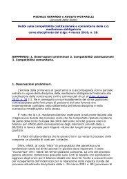 scarica il documento - Lisug, Libero Sindacato Ufficiali Giudiziari