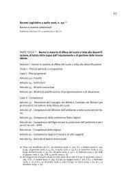 D.Lgs. 152/2006 - Autorità di Bacino della Basilicata