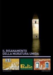 IL RISANAMENTO DELLA MURATURA UMIDA - Colorificio PAULIN