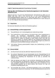 13 Zweitwohnungssteuersatzung - Amelinghausen