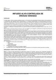 infusão alvo-controlada de drogas venosas - Sociedade Brasileira ...