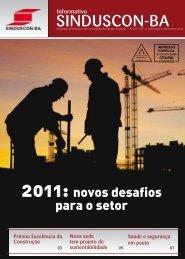 Boletim Informativo | Novembro - Dezembro 2010 - Sinduscon