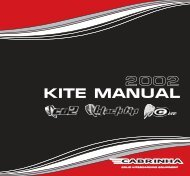 CK'02 Manual 1.3.5ita(QXPv3.3) - Cabrinha