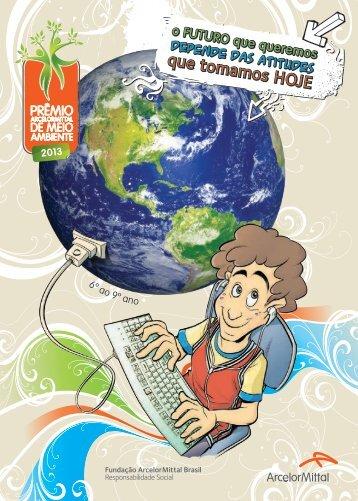 Cartilha 6º ao 9º ano - Fundação ArcelorMittal Brasil