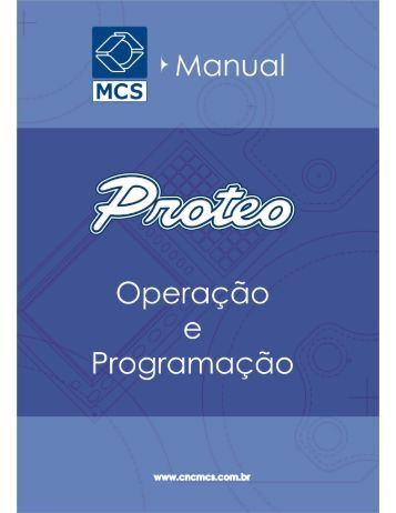ÍNDICE MANUAL OPERAÇÃO CENTUR 35 pág.1 - MCS Engenharia