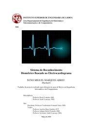 Sistema de Reconhecimento Biométrico Baseado no ...