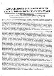 Documento di don Giuseppe Insana sugli OPG - SEAC