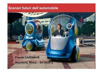 Scenari futuri dell'automobile - Assofond