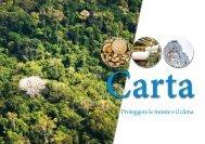 Carta – Proteggere le foreste e il clima
