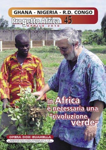 progetto africa - Fraciscio