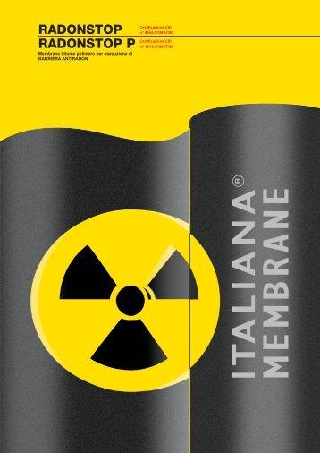 barriera al radon - Italiana Membrane
