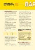 barriera al radon - Italiana Membrane - Page 2