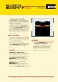 barriera al radon - Italiana Membrane - Page 5