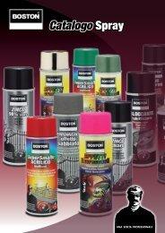 Catalogo Spray - boston italia